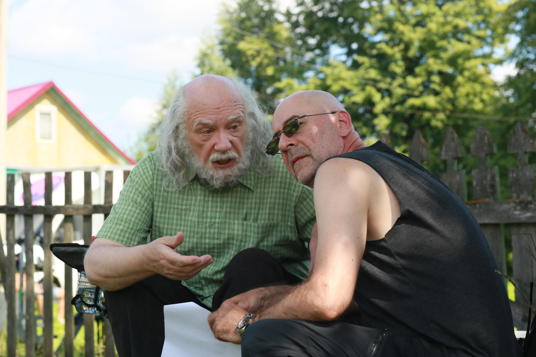 во время съемки фильма «Весь этот джем» с Леонидом Куравлевым
